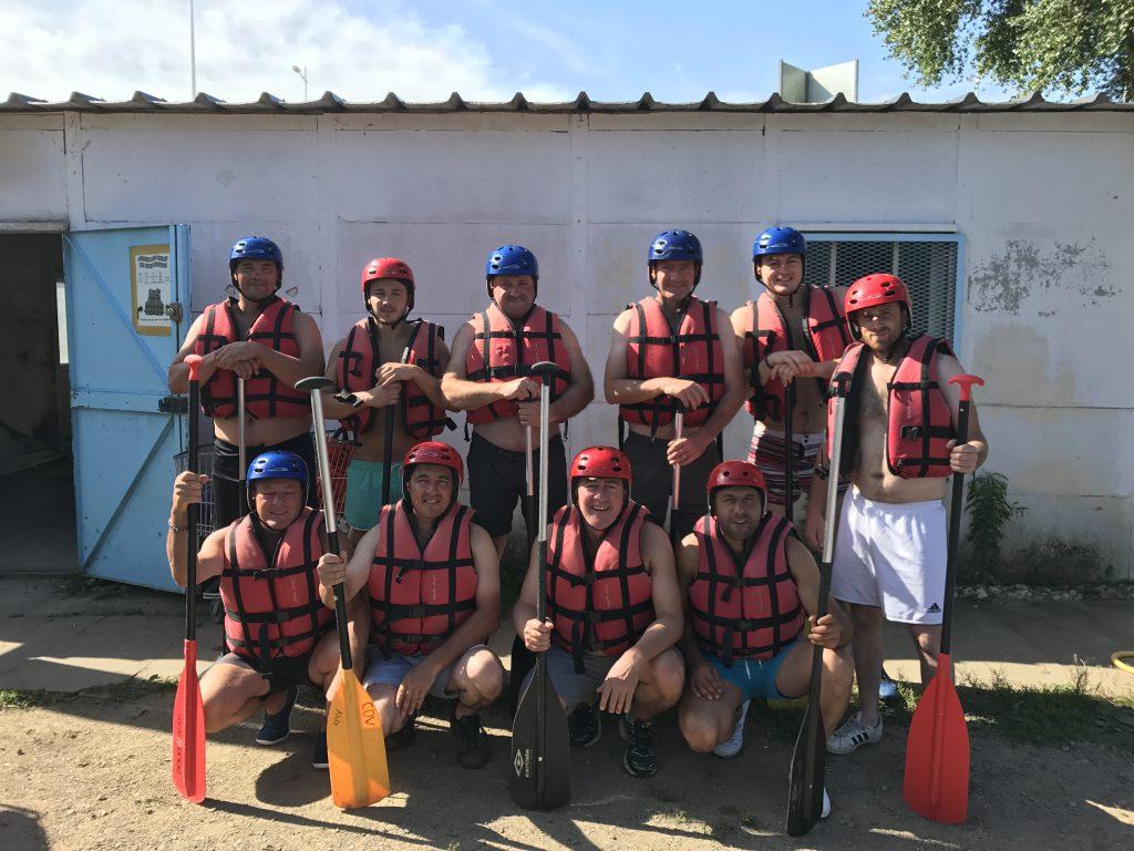 Equipe Rafting